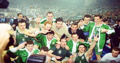 2000 euroleague şampiyonu panathinaikos basketbol