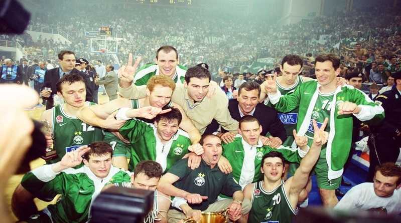 2000 euroleague şampiyonu panathinaikos basketbol